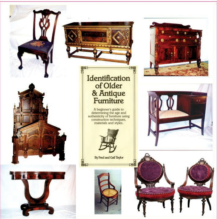 Identification Of Older And Antique Furniture Dvd By Fred Taylor
