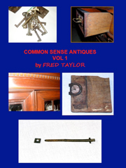 Common Sense Antiques by Fred Taylor
